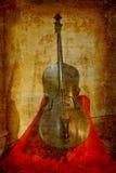 античный басовый двойник Стоковое Изображение RF