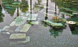 Античный бассейн Стоковое Фото