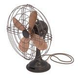 античный вентилятор старый Стоковое фото RF
