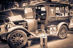 Античный виллис на военноморском музее воздуха Стоковые Фотографии RF