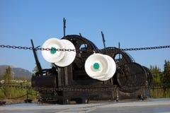Античный ворот анкера Стоковая Фотография RF