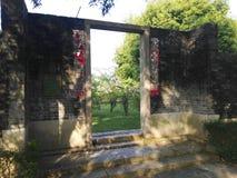 античный вход Стоковые Фотографии RF