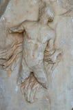 Античный горельеф Стоковые Фото