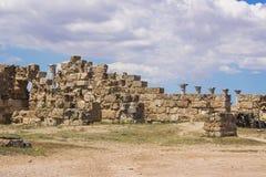 Северный Кипр Античный город салями стоковые изображения rf