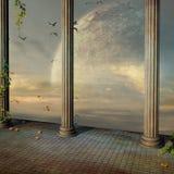античный дворец бесплатная иллюстрация