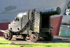 античный дисплей canon Стоковое Изображение RF
