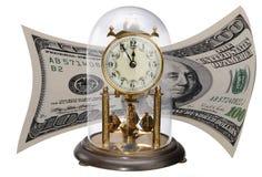 античный доллар часов счета Стоковые Изображения RF