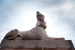 Античный египетский сфинкс Стоковое Изображение RF