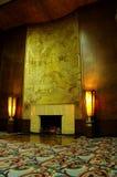 античный камин Стоковая Фотография RF