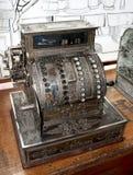 Античный кассовый аппарат Стоковые Фото