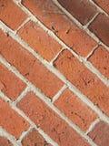 Античный кирпич на угле Стоковое Изображение
