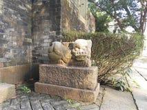 Античный китайский дракон Стоковые Изображения RF