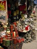 античный китайский рынок стоковое фото rf