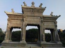 Античный китайский строб Стоковые Фото