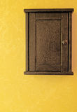 античный ключ коробки Стоковое Фото