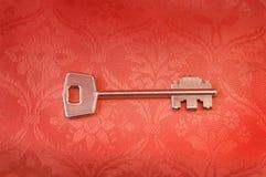 античный ключ Стоковое Изображение