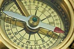 Античный компас. Стоковые Изображения RF