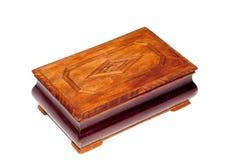 античный коричневый цвет коробки Стоковое фото RF