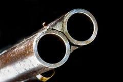 Античный крупный план корокоствольного оружия Стоковые Фото
