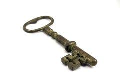Античный ключ Стоковое Изображение RF