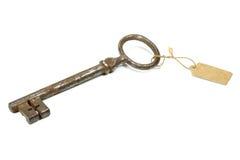 античный ключ Стоковая Фотография