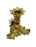 античный латунный держатель для свечи Стоковые Фотографии RF