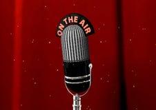 античный микрофон Стоковые Фото
