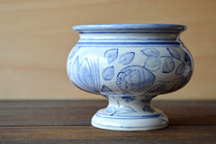 Античный опарник apothecary Стоковая Фотография RF