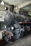Античный паровоз пара Стоковые Фотографии RF