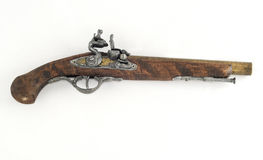 античный пистолет Стоковое Фото