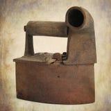 античный плоский утюг Стоковая Фотография
