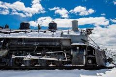 Античный поезд Рио Гранде стоковое изображение rf