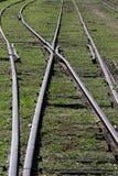 античный поезд станции Стоковое Изображение RF