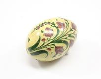 античный пурпур пасхального яйца стоковое изображение