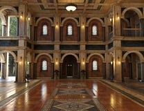 Античный роскошный грандиозный интерьер Hall иллюстрация штока