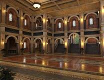 Античный роскошный грандиозный интерьер Hall бесплатная иллюстрация