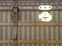 античный роскошный чемодан Стоковая Фотография