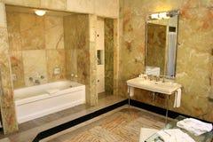 античный сбор винограда ванной комнаты Стоковое Изображение RF