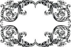 античный сбор винограда вектора рамки иллюстрация вектора