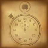 античный секундомер Стоковые Фото