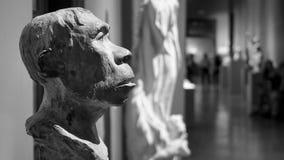 Античный старый бюст человека Стоковая Фотография RF