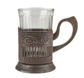 Античный стекл-держатель Стоковое фото RF