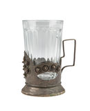 Античный стекл-держатель Стоковые Фотографии RF