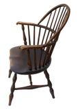 античный стул изолировал windsor взгляда со стороны Стоковая Фотография RF