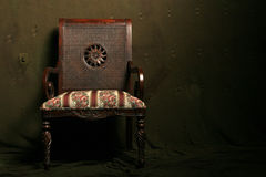 античный стул Стоковые Фото