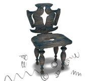 античный стул Стоковое Изображение RF