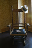 античный стул Стоковые Изображения