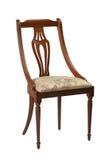 Античный стул изолированный на белой предпосылке Стоковая Фотография RF