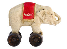 Античный слон игрушки Стоковое фото RF
