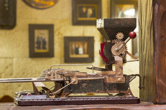 Античный табак машины завальцовки Стоковые Изображения RF